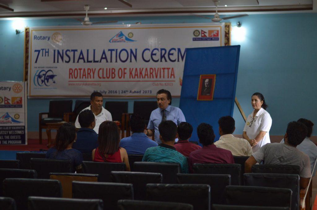 Interaction-between-Rotaract-Kakarvitta-DGE-Rtn.-Sanjay-Giri-Rotary-Club-of-Kakarvitta-6