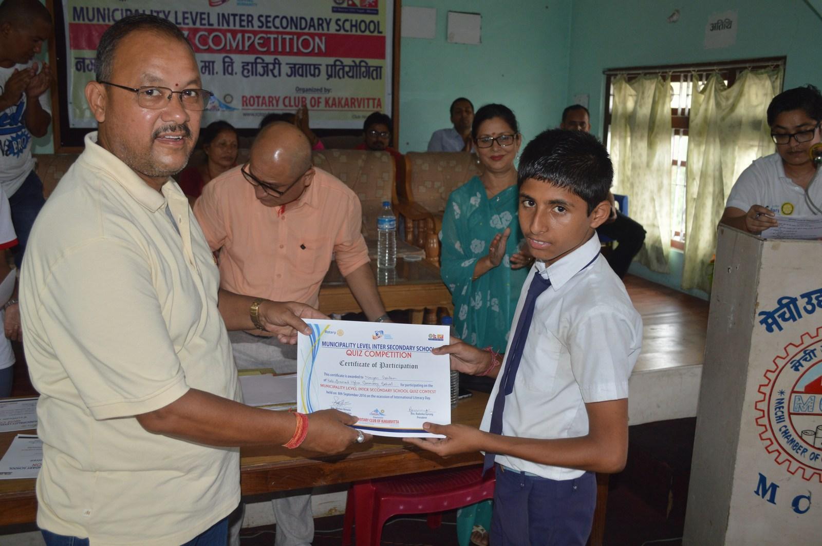 Municipality-Level-Inter-Secondary-School-Quiz-Contest-2016-Rotary-Club-of-Kakarvitta-51