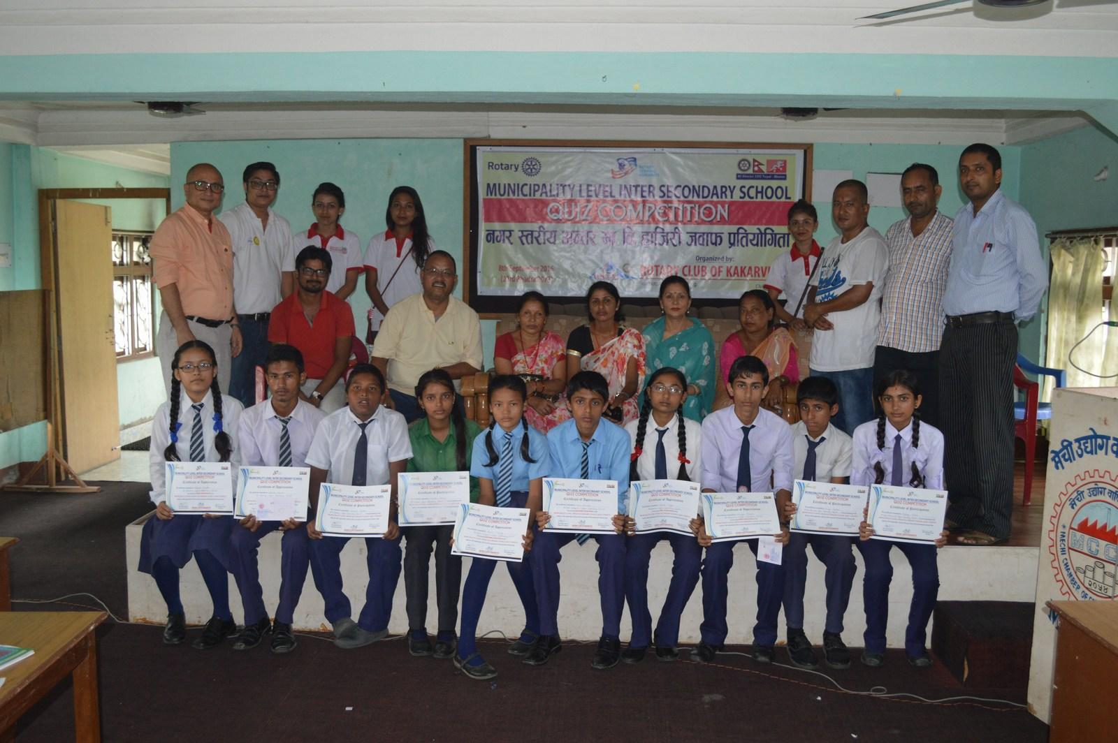 Municipality-Level-Inter-Secondary-School-Quiz-Contest-2016-Rotary-Club-of-Kakarvitta-70