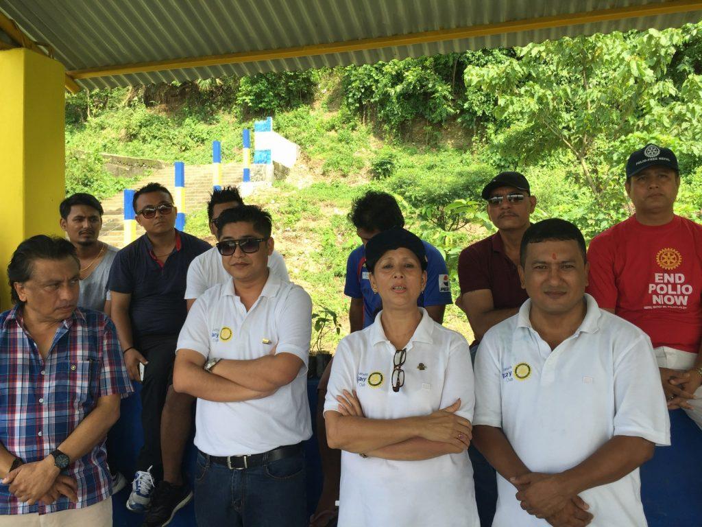 Tree-Pantation-@-Mechi-Ganga-Bishramalaya-Rotary-Club-of-Kakarvitta-38