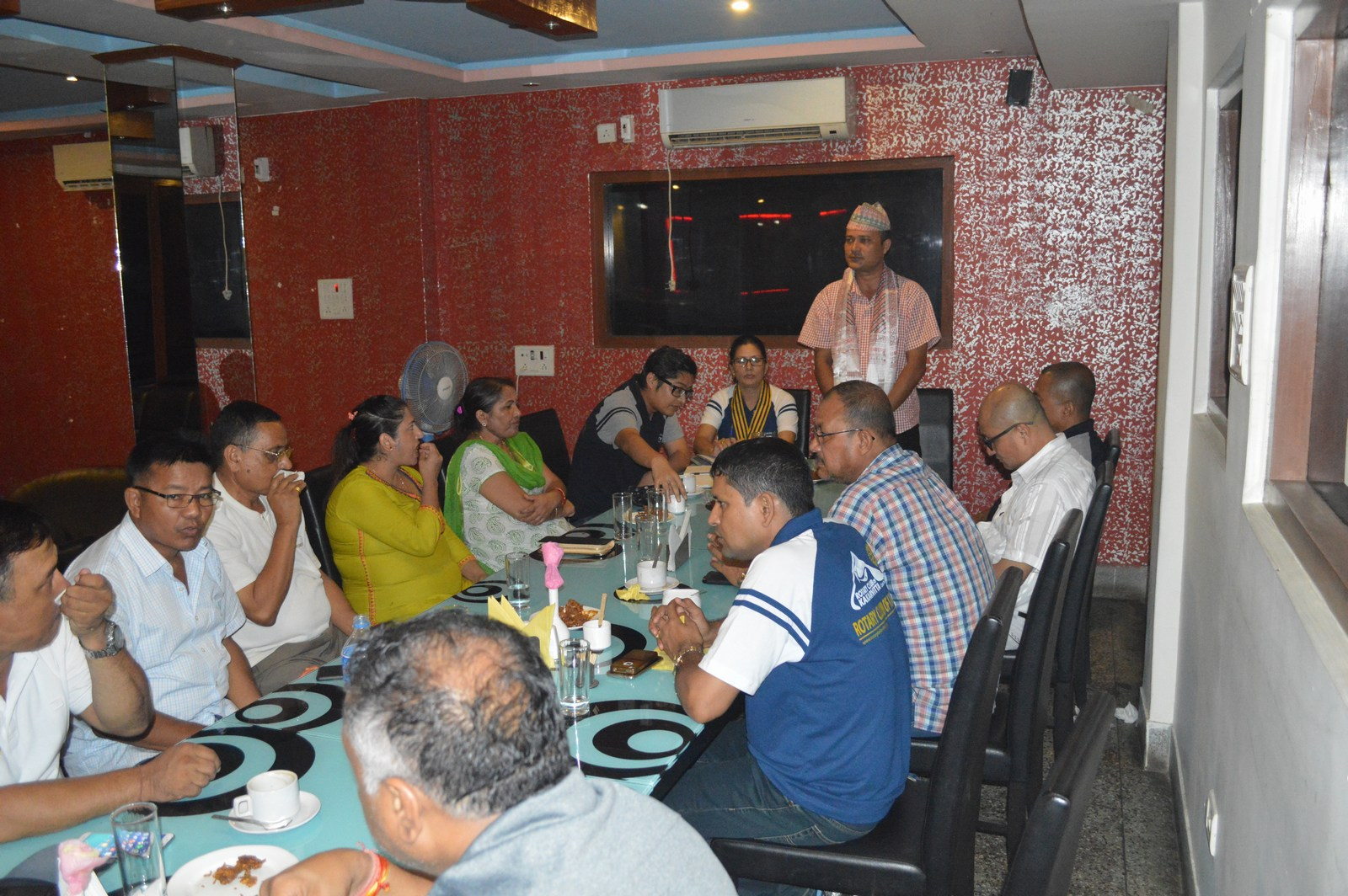 Weekly-Meeting-with-the-Guest-Speaker-DSP-Durga-Raj-Regmi-Rotary-Club-of-Kakarvitta-11