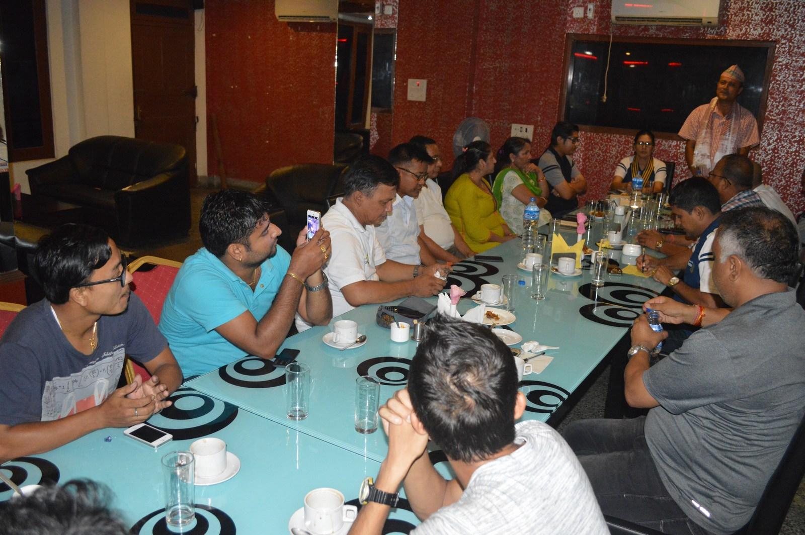 Weekly-Meeting-with-the-Guest-Speaker-DSP-Durga-Raj-Regmi-Rotary-Club-of-Kakarvitta-12