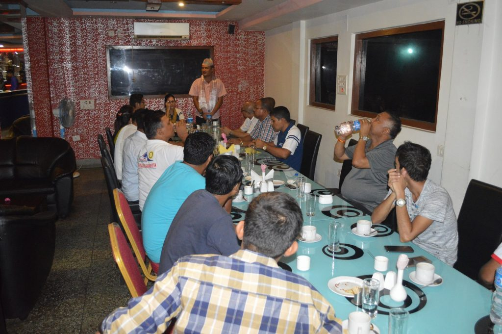 Weekly-Meeting-with-the-Guest-Speaker-DSP-Durga-Raj-Regmi-Rotary-Club-of-Kakarvitta-13
