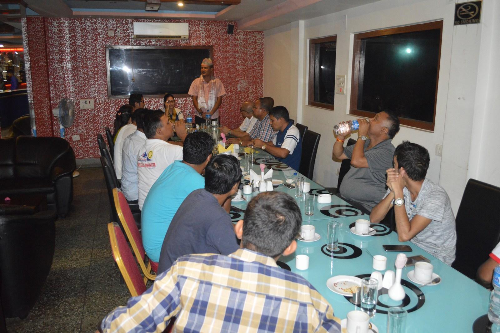 Weekly-Meeting-with-the-Guest-Speaker-DSP-Durga-Raj-Regmi-Rotary-Club-of-Kakarvitta-13