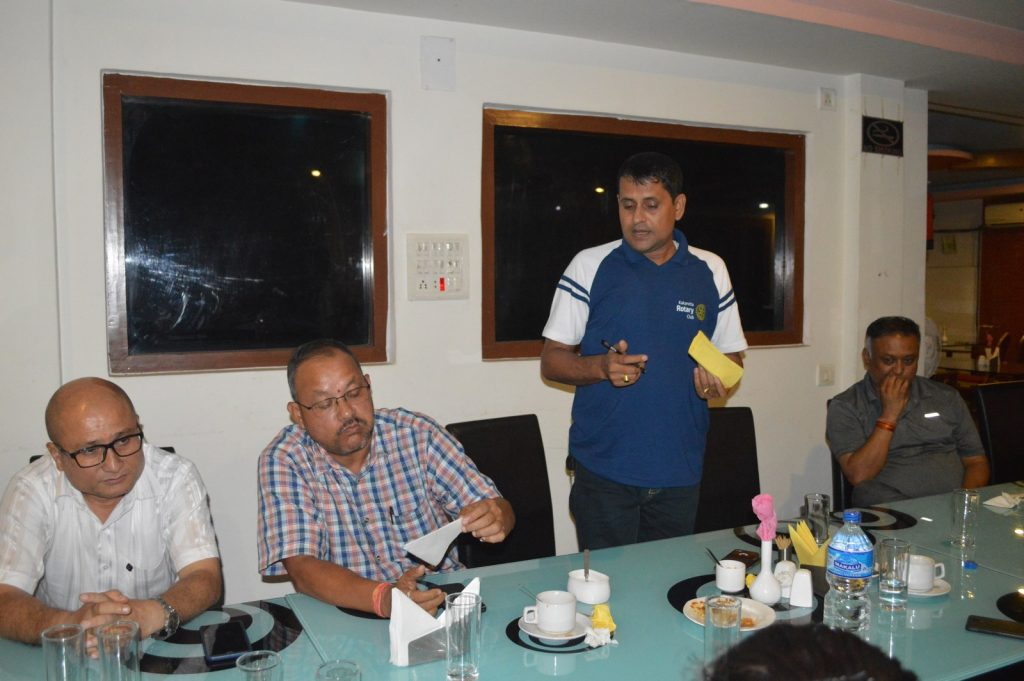 Weekly-Meeting-with-the-Guest-Speaker-DSP-Durga-Raj-Regmi-Rotary-Club-of-Kakarvitta-14