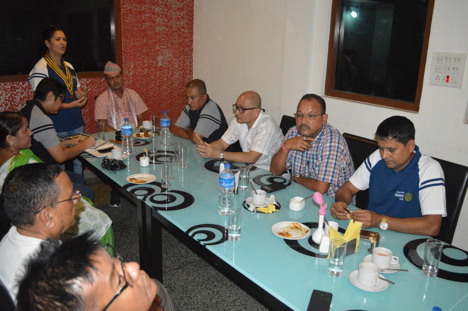 Weekly-Meeting-with-the-Guest-Speaker-DSP-Durga-Raj-Regmi-Rotary-Club-of-Kakarvitta-15