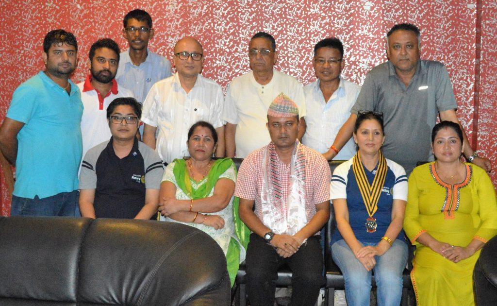 Weekly-Meeting-with-the-Guest-Speaker-DSP-Durga-Raj-Regmi-Rotary-Club-of-Kakarvitta-18