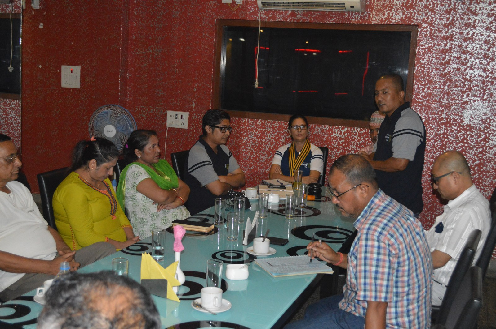 Weekly-Meeting-with-the-Guest-Speaker-DSP-Durga-Raj-Regmi-Rotary-Club-of-Kakarvitta-8