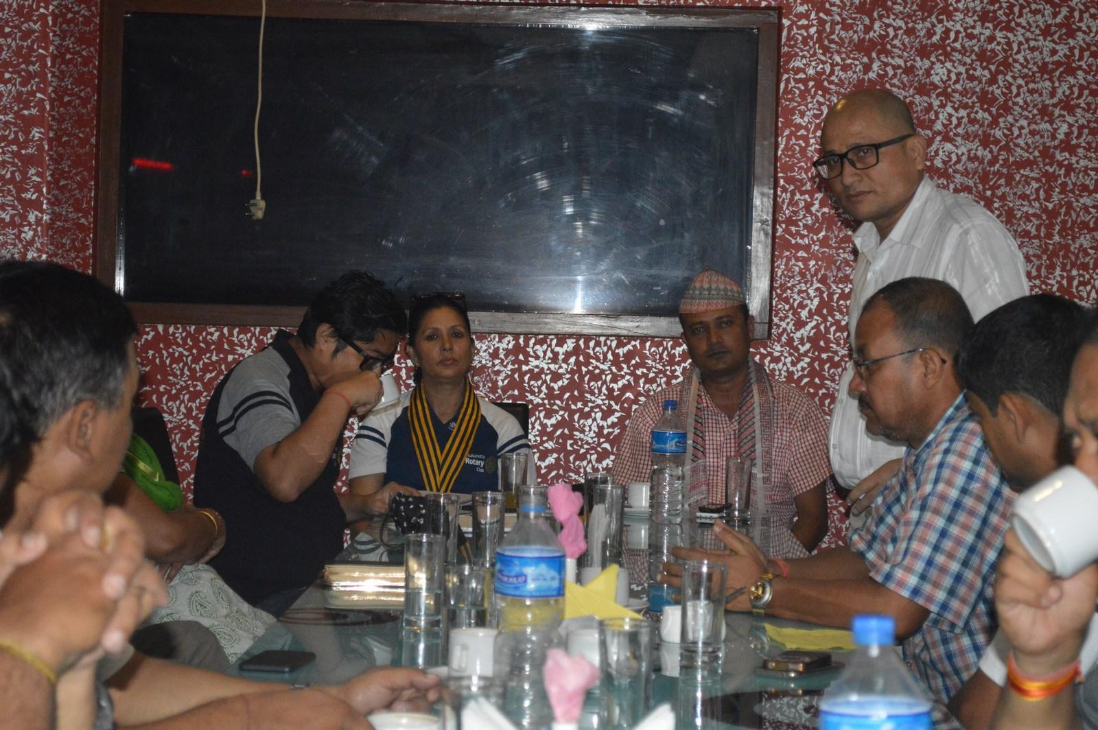 Weekly-Meeting-with-the-Guest-Speaker-DSP-Durga-Raj-Regmi-Rotary-Club-of-Kakarvitta-9