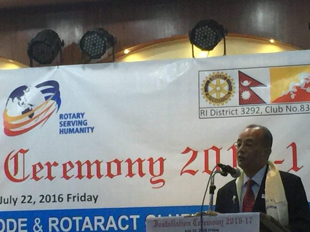 Attending-Installation-Ceremony-of-Neighboring-Rotary-Clubs-Rotary-Club-of-Kakarvitta-1