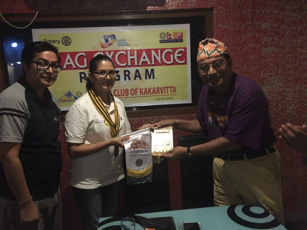 Flag-Exchange-Program-with-Rotary-Club-of-Belur-Rotary-Clu-of-Kakarvitta-5