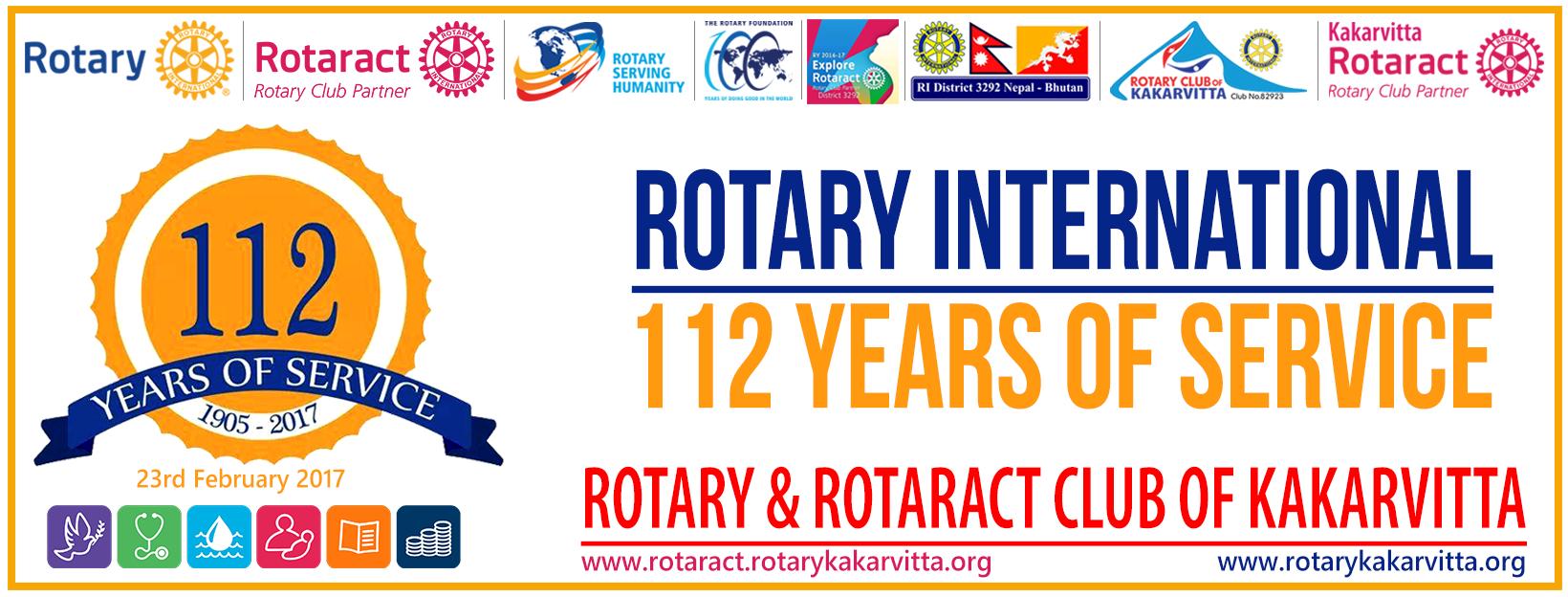 Rotary-international-112-years-of-service