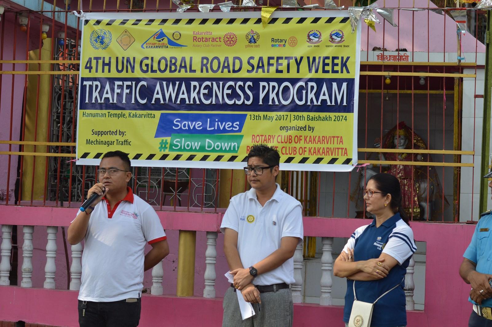 4th-UN-Global-Road-Safety-Week-2017-Traffic-Awareness-Program-Rotary-club-of-Kakarvitta-11