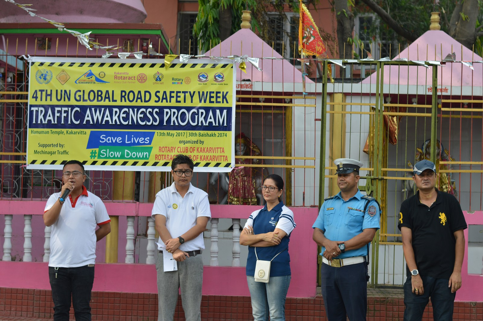 4th-UN-Global-Road-Safety-Week-2017-Traffic-Awareness-Program-Rotary-club-of-Kakarvitta-12