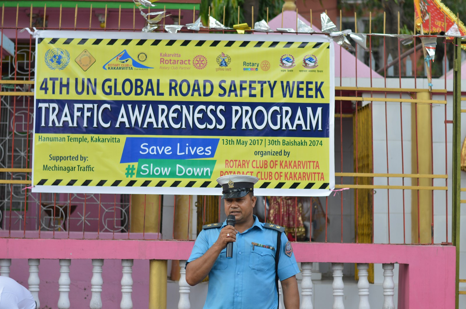 4th-UN-Global-Road-Safety-Week-2017-Traffic-Awareness-Program-Rotary-club-of-Kakarvitta-17