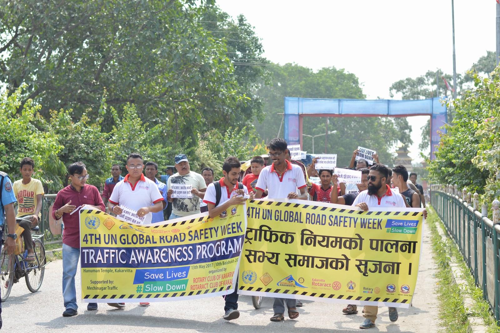 4th-UN-Global-Road-Safety-Week-2017-Traffic-Awareness-Program-Rotary-club-of-Kakarvitta-40