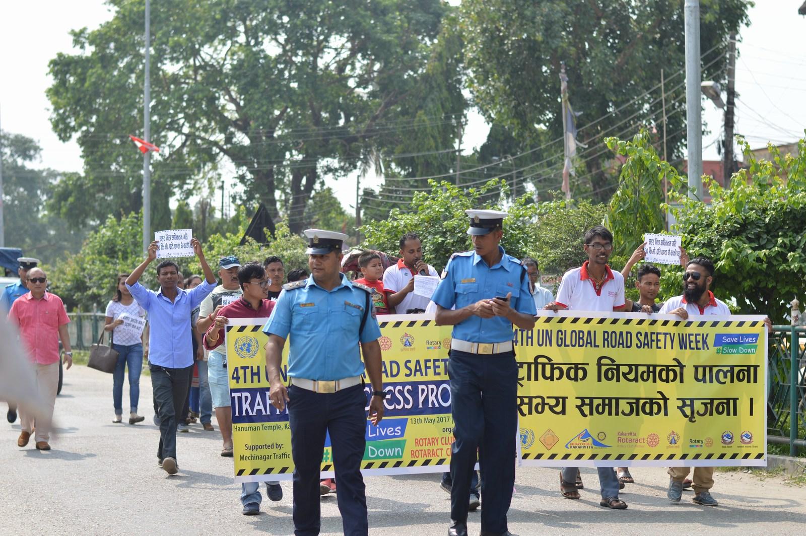 4th-UN-Global-Road-Safety-Week-2017-Traffic-Awareness-Program-Rotary-club-of-Kakarvitta-41