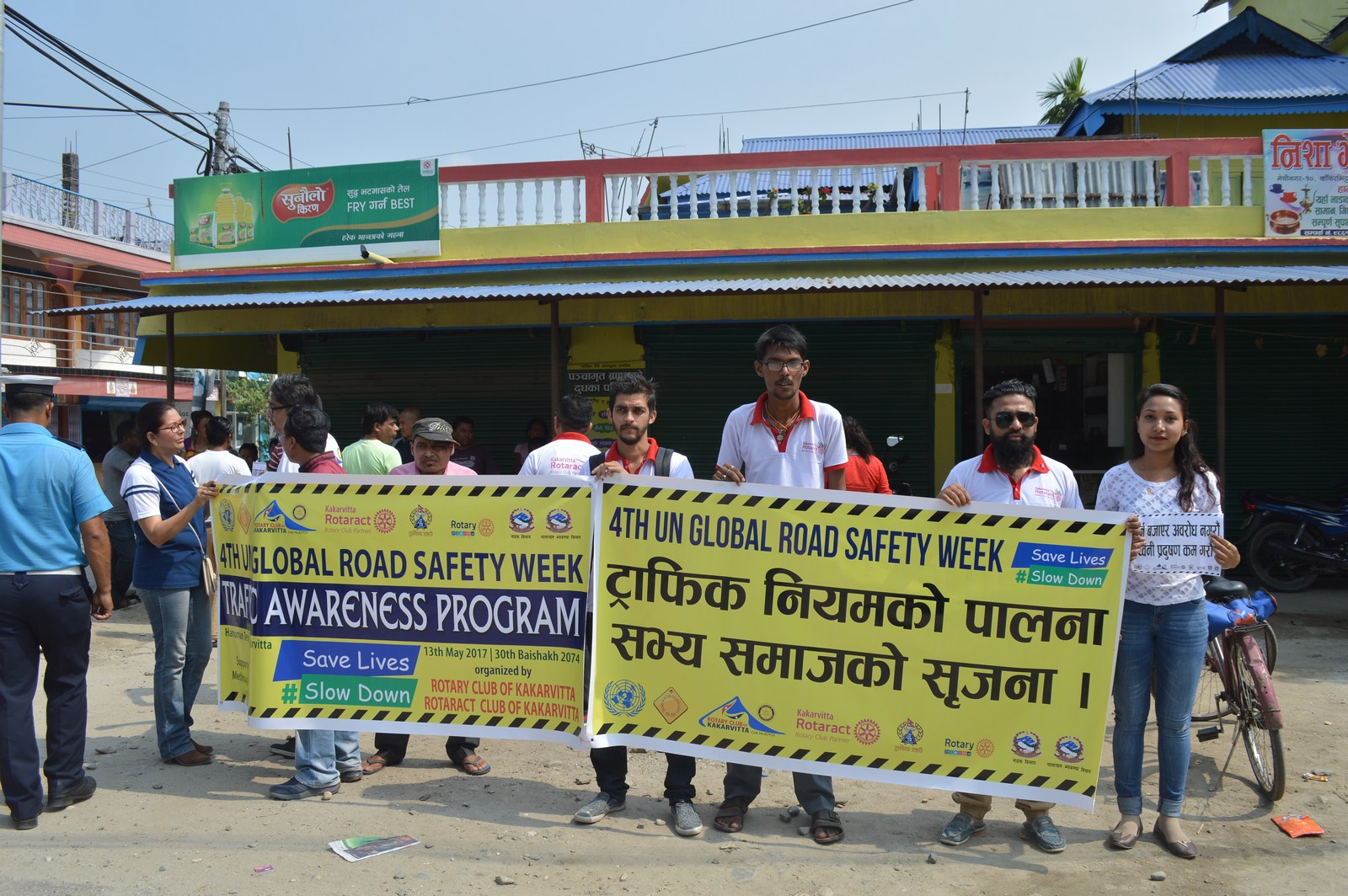 4th-UN-Global-Road-Safety-Week-2017-Traffic-Awareness-Program-Rotary-club-of-Kakarvitta-55
