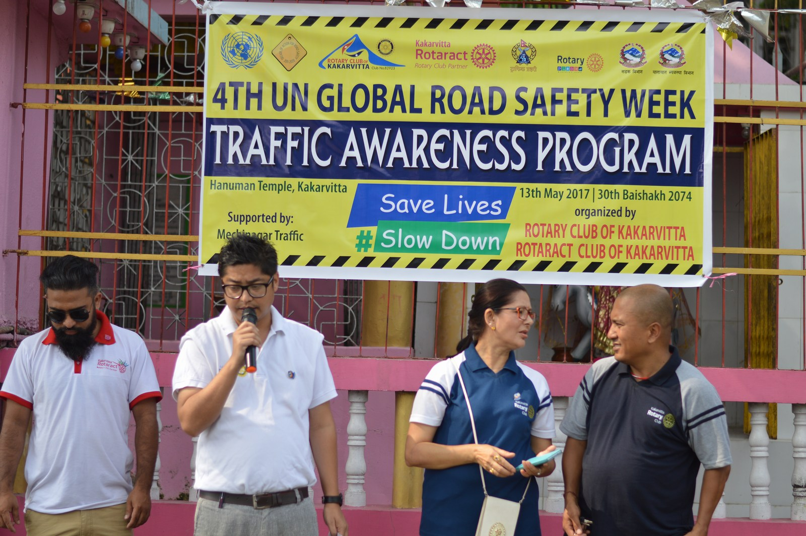 4th-UN-Global-Road-Safety-Week-2017-Traffic-Awareness-Program-Rotary-club-of-Kakarvitta-8