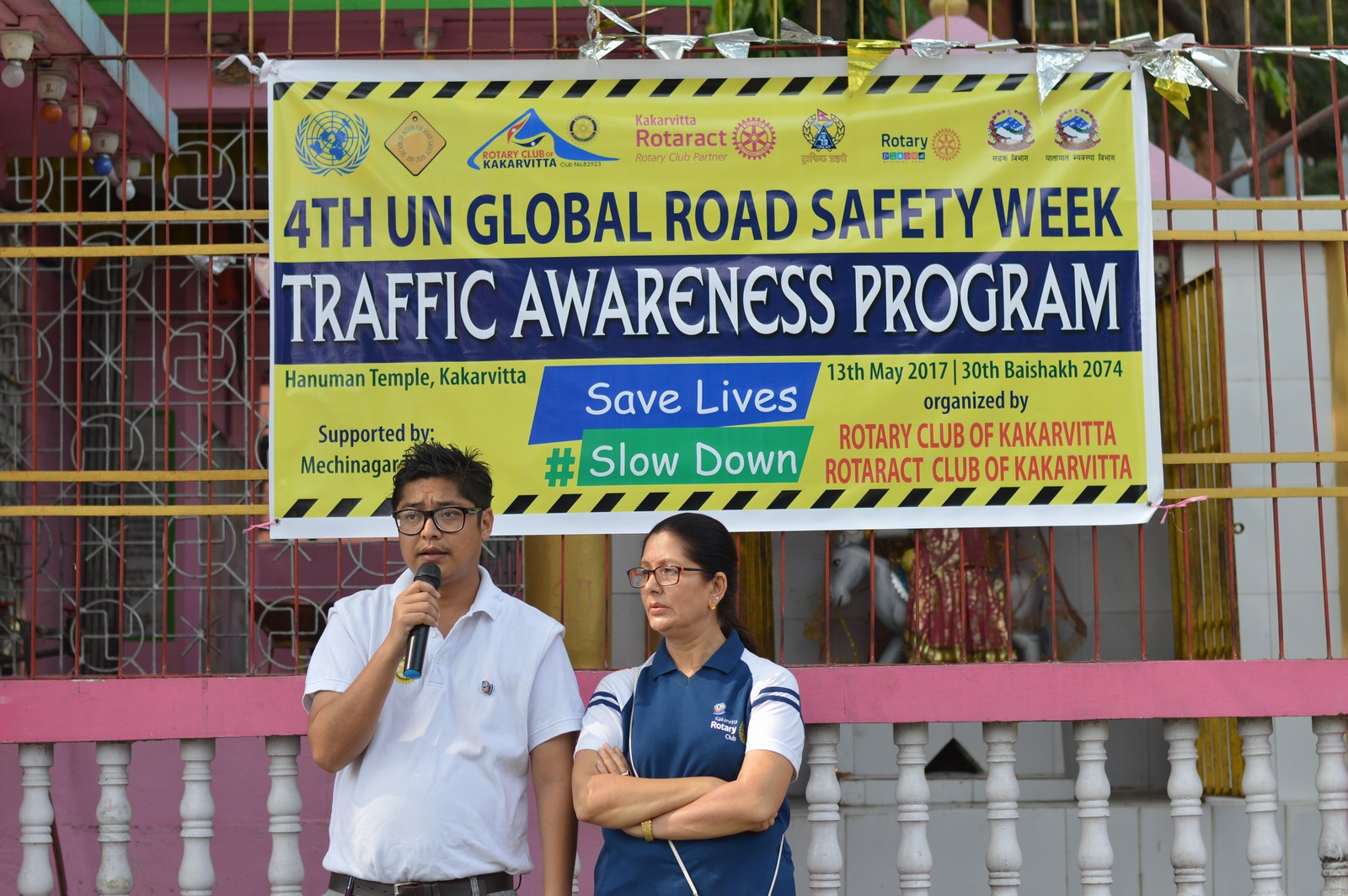 4th-UN-Global-Road-Safety-Week-2017-Traffic-Awareness-Program-Rotary-club-of-Kakarvitta-9