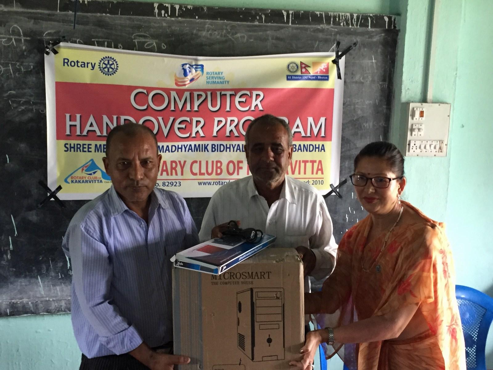 Computer-handover-to-Mechi-Adharbhut-Vidyalaya-Rotary-Club-of-Kakarvitta-11