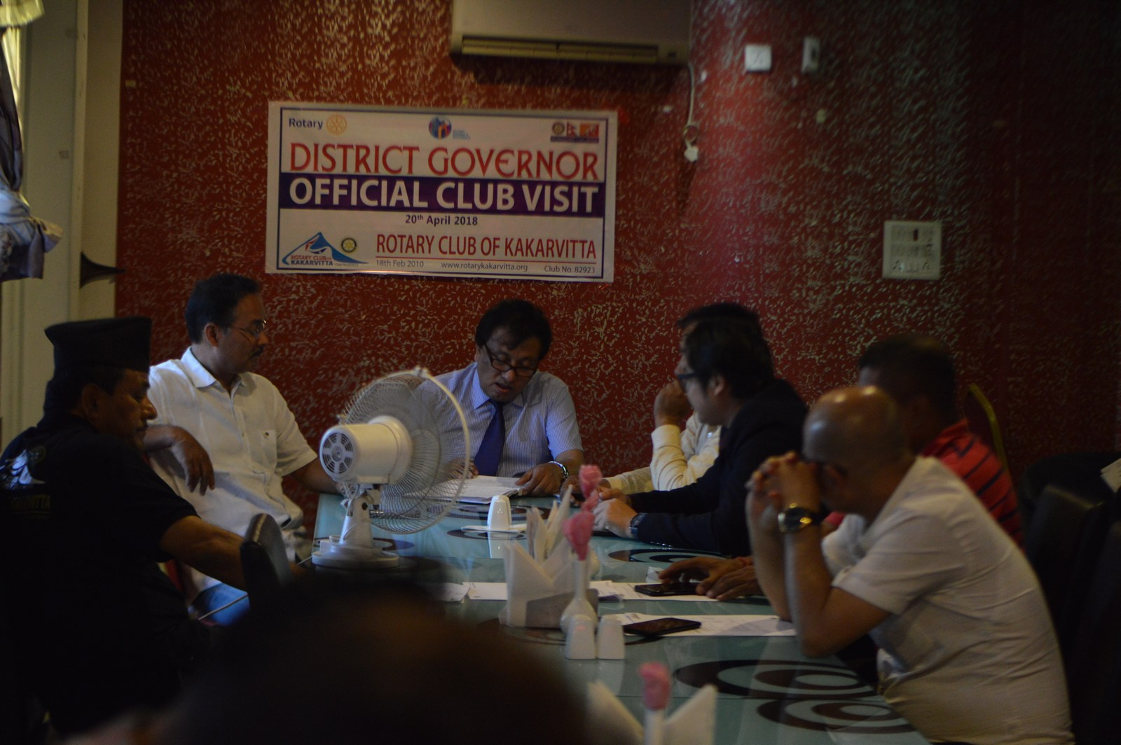 District-Governors-Official-Club-Visit-2017-18-Rotary-Club-of-Kakarvitta-8