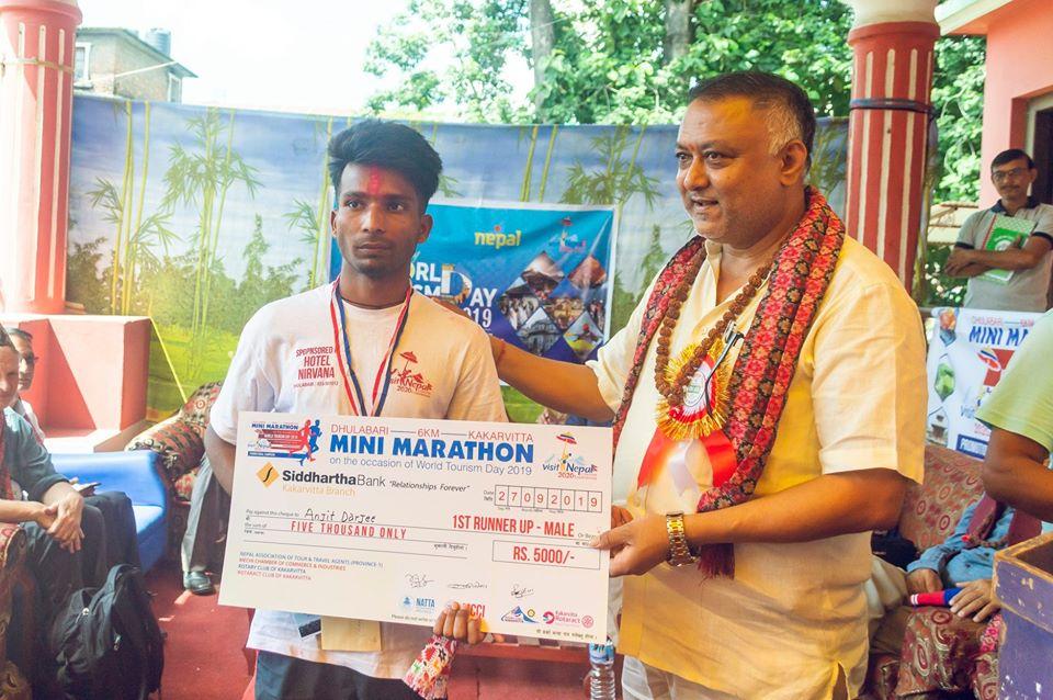 Mini Marathon 6 Km On The Occasion Of 40th World Tourism Day 2019 13