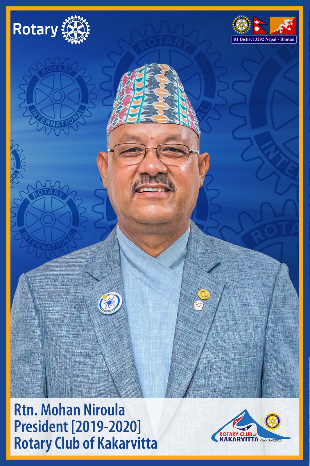 Rtn.-Mohan-Niroula-President-2019-20-Rotary-Club-of-Kakarvitta