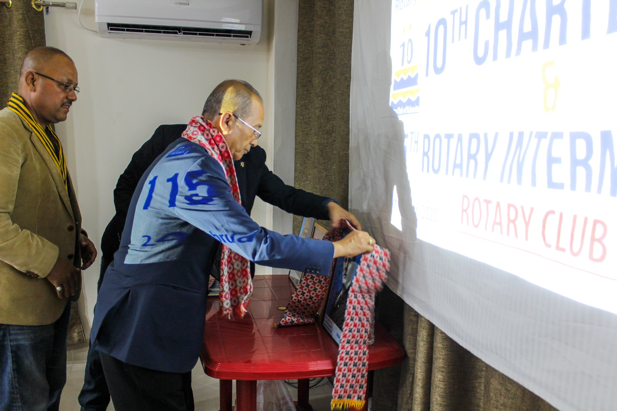 10th Charter Day 115th Rotary International Day 1