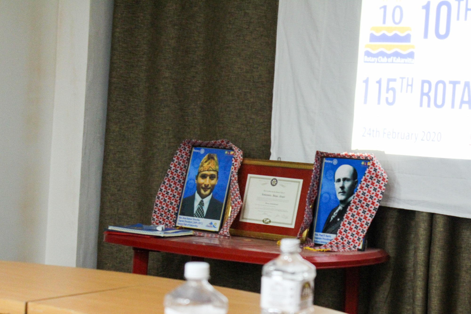 10th Charter Day 115th Rotary International Day 20