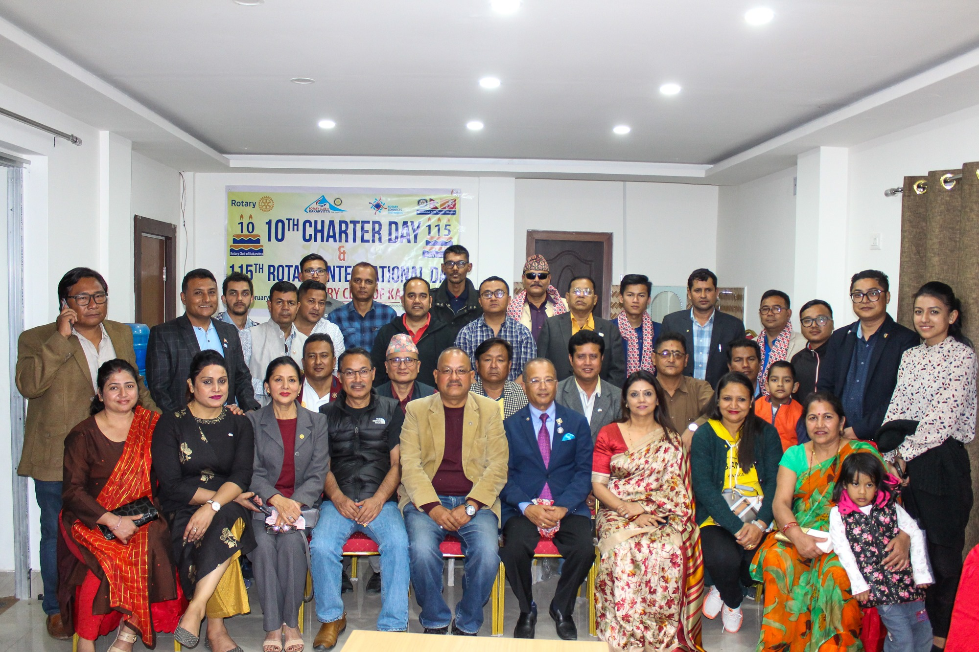 10th Charter Day & 115th Rotary International Day Celebration