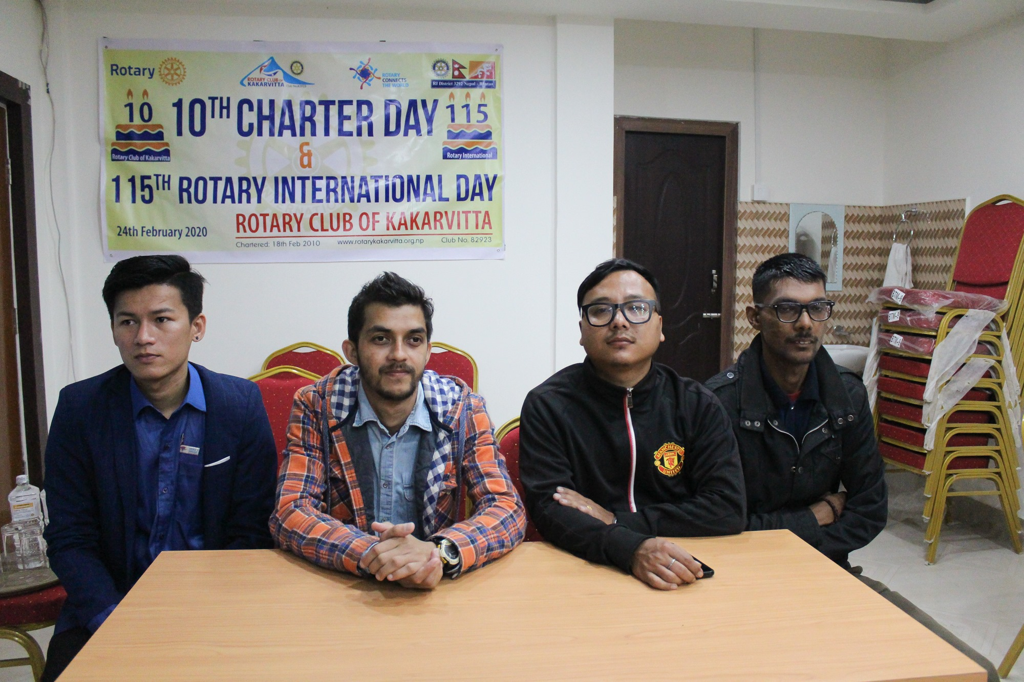 10th Charter Day 115th Rotary International Day 6