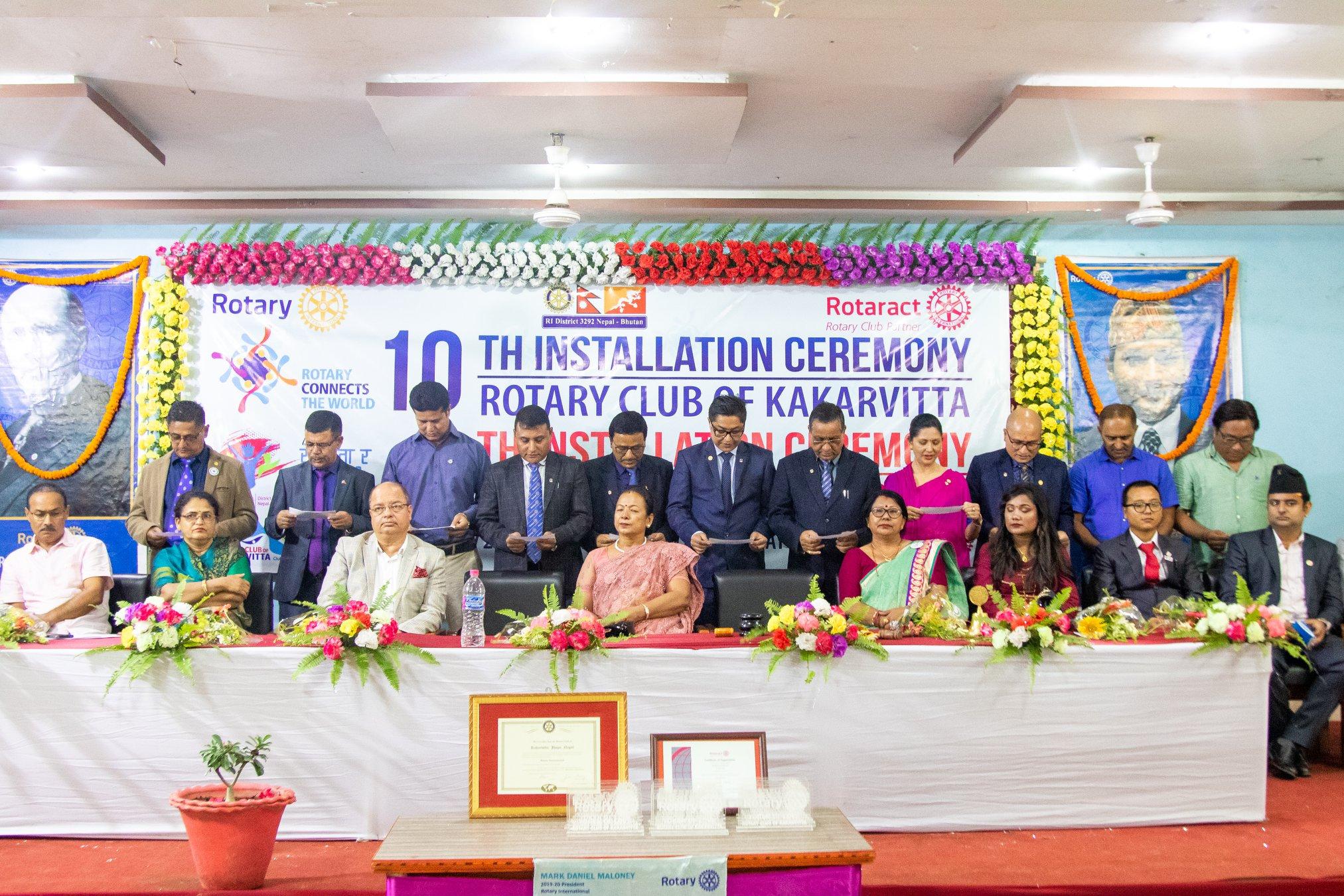 10th Installation Ceremony Rotary Club Of Kakarvitta 29
