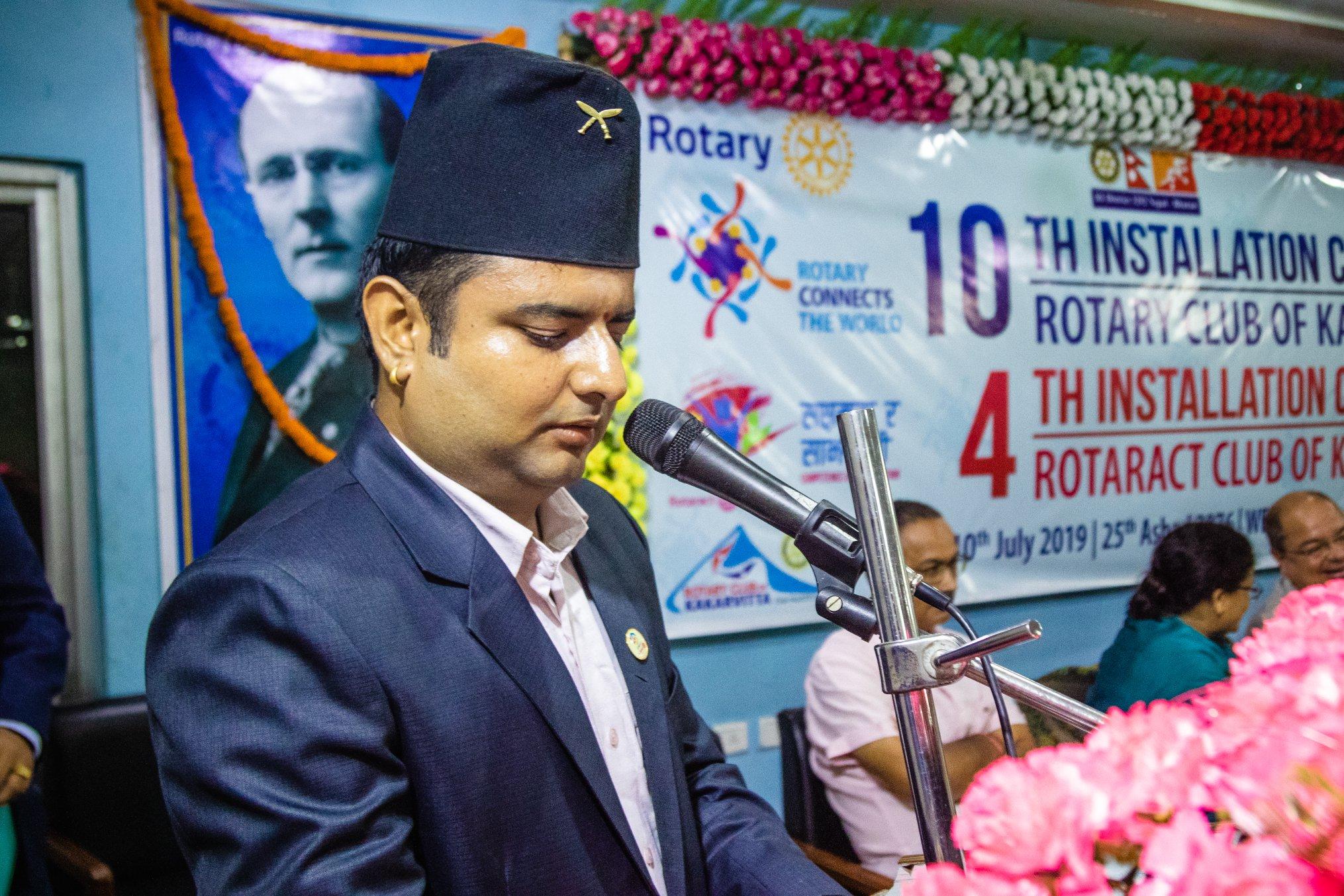 10th Installation Ceremony Rotary Club Of Kakarvitta 30