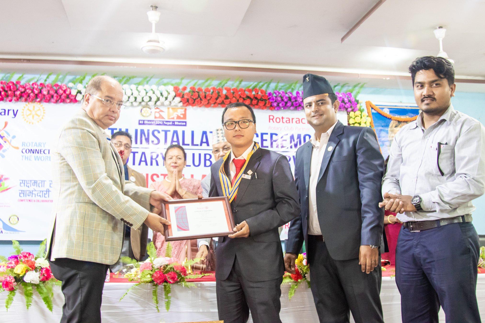 10th Installation Ceremony Rotary Club Of Kakarvitta 31