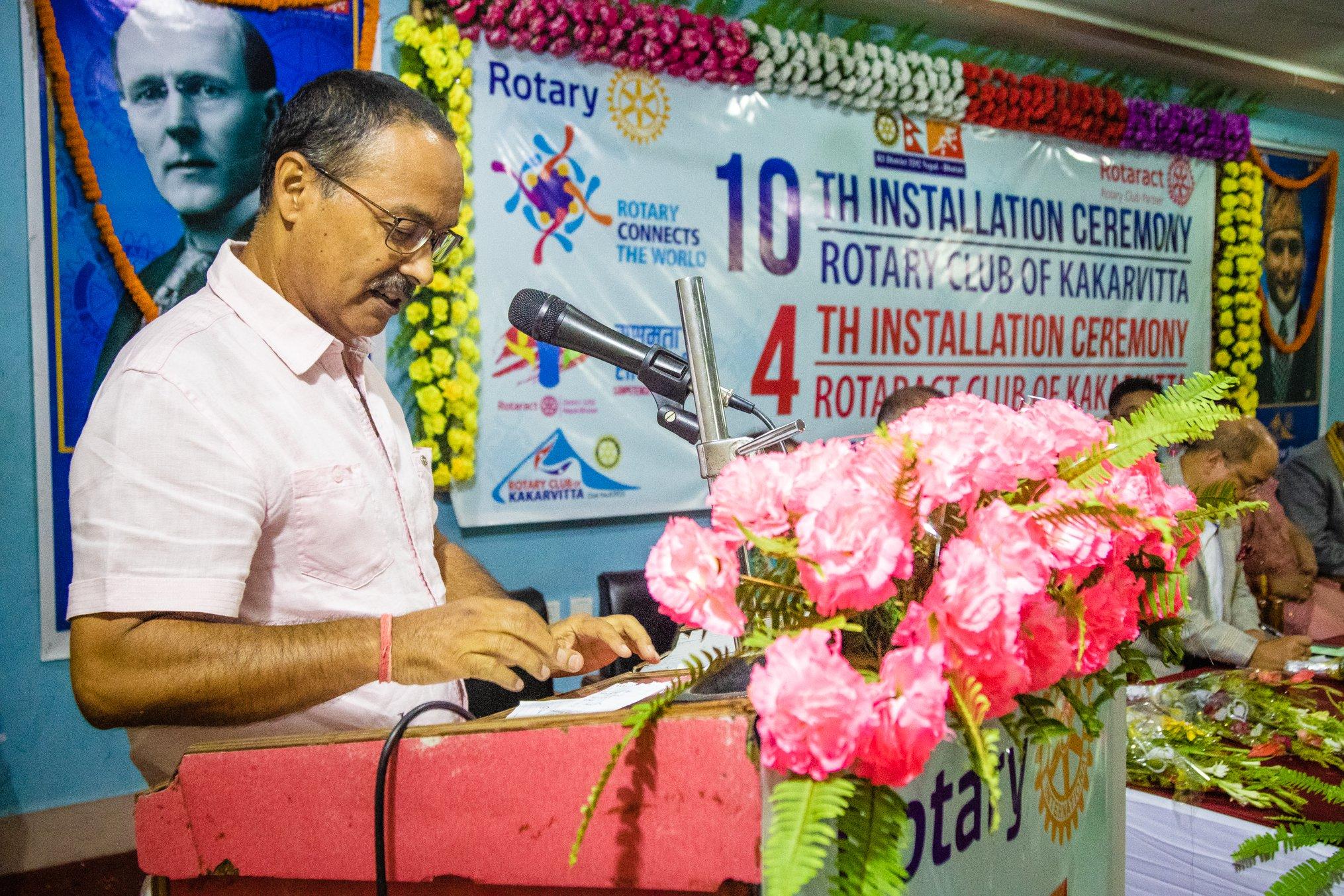 10th Installation Ceremony Rotary Club Of Kakarvitta 43