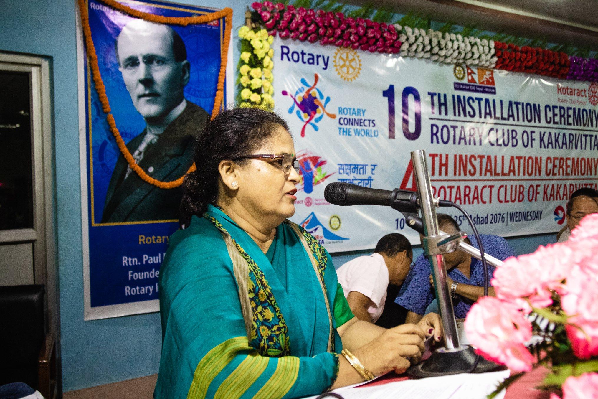 10th Installation Ceremony Rotary Club Of Kakarvitta 45