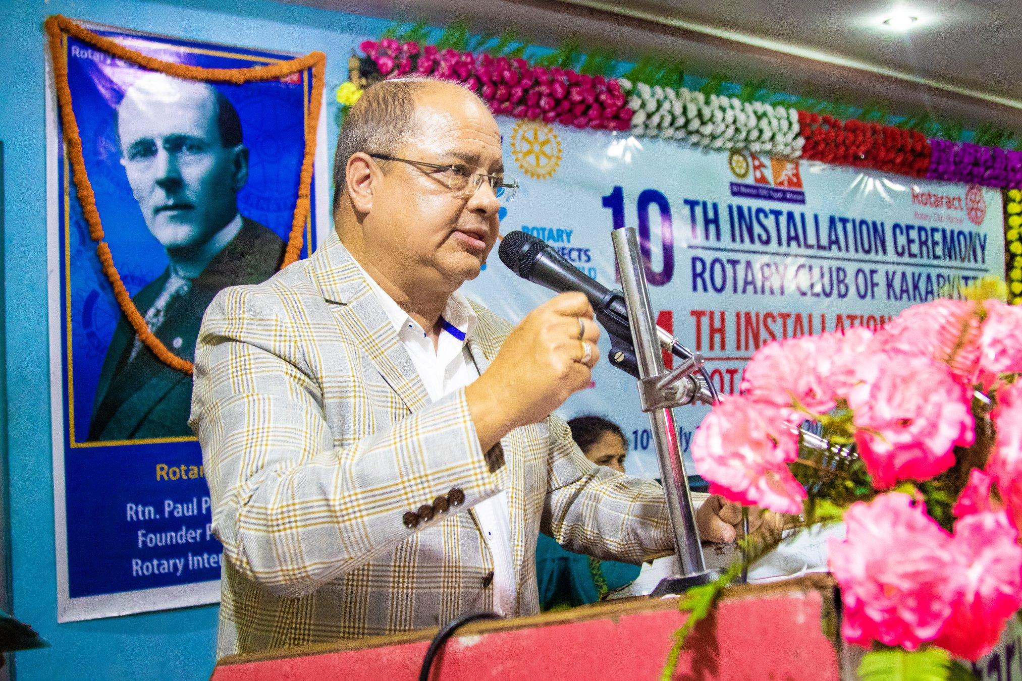 10th Installation Ceremony Rotary Club Of Kakarvitta 48