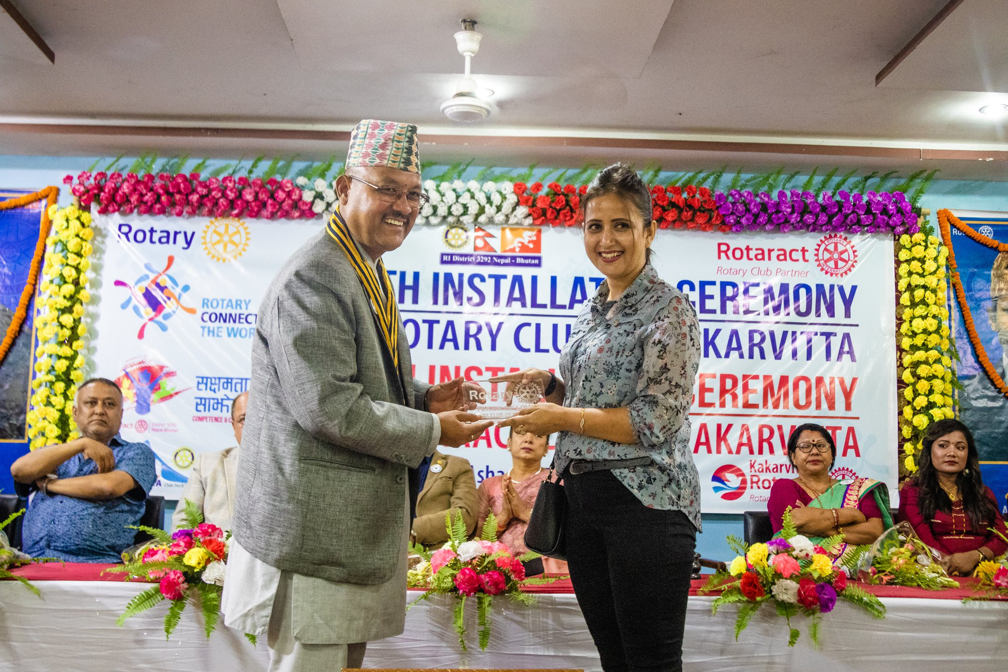 10th Installation Ceremony Rotary Club Of Kakarvitta 53