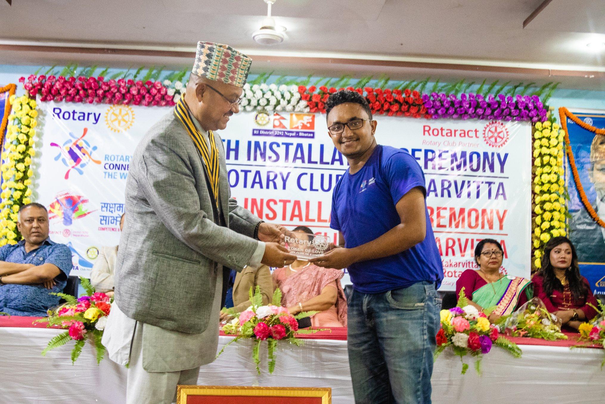 10th Installation Ceremony Rotary Club Of Kakarvitta 56