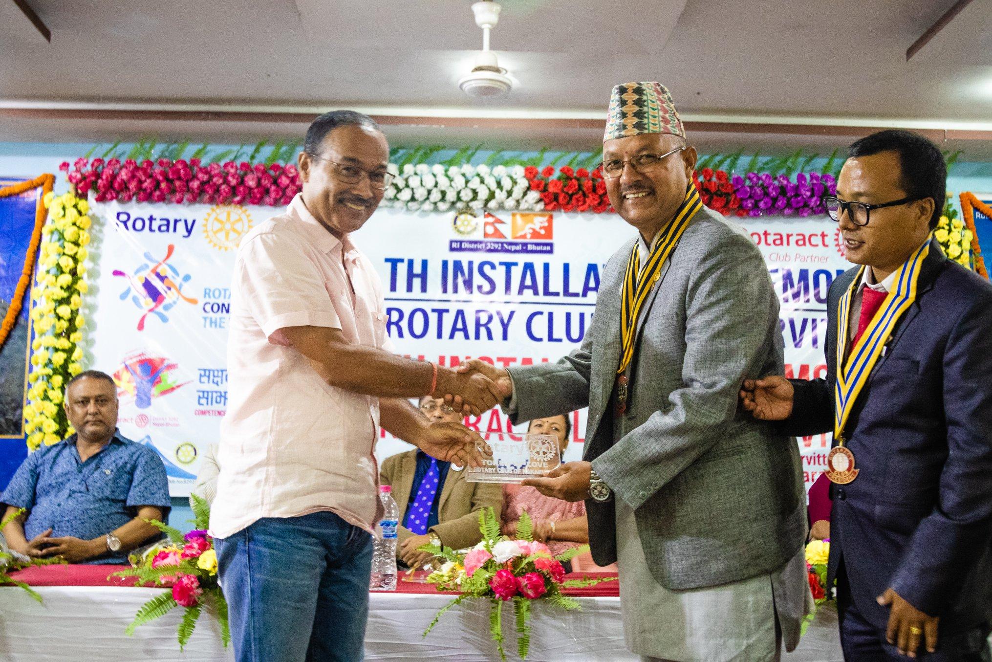 10th Installation Ceremony Rotary Club Of Kakarvitta 59