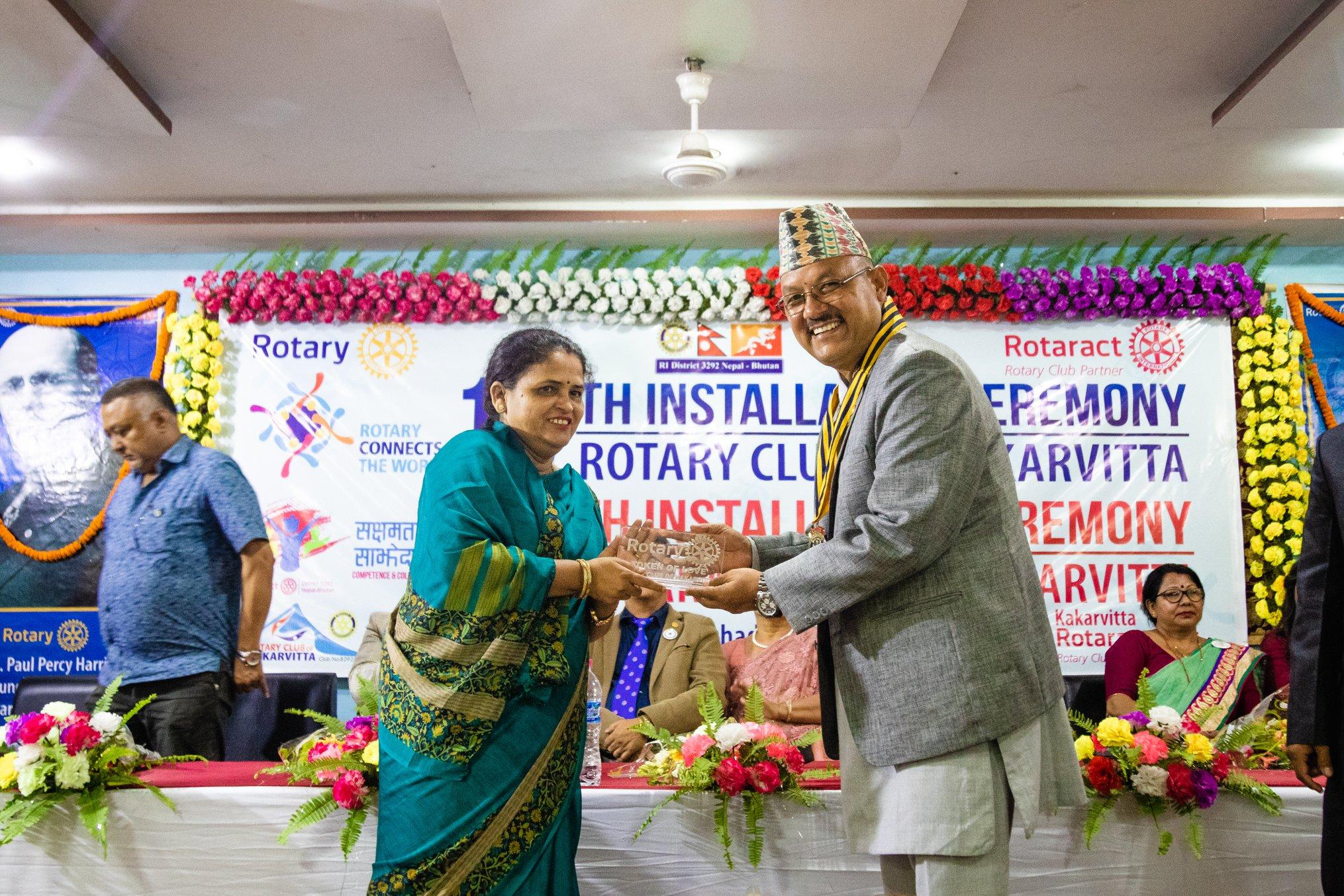 10th Installation Ceremony Rotary Club Of Kakarvitta 61