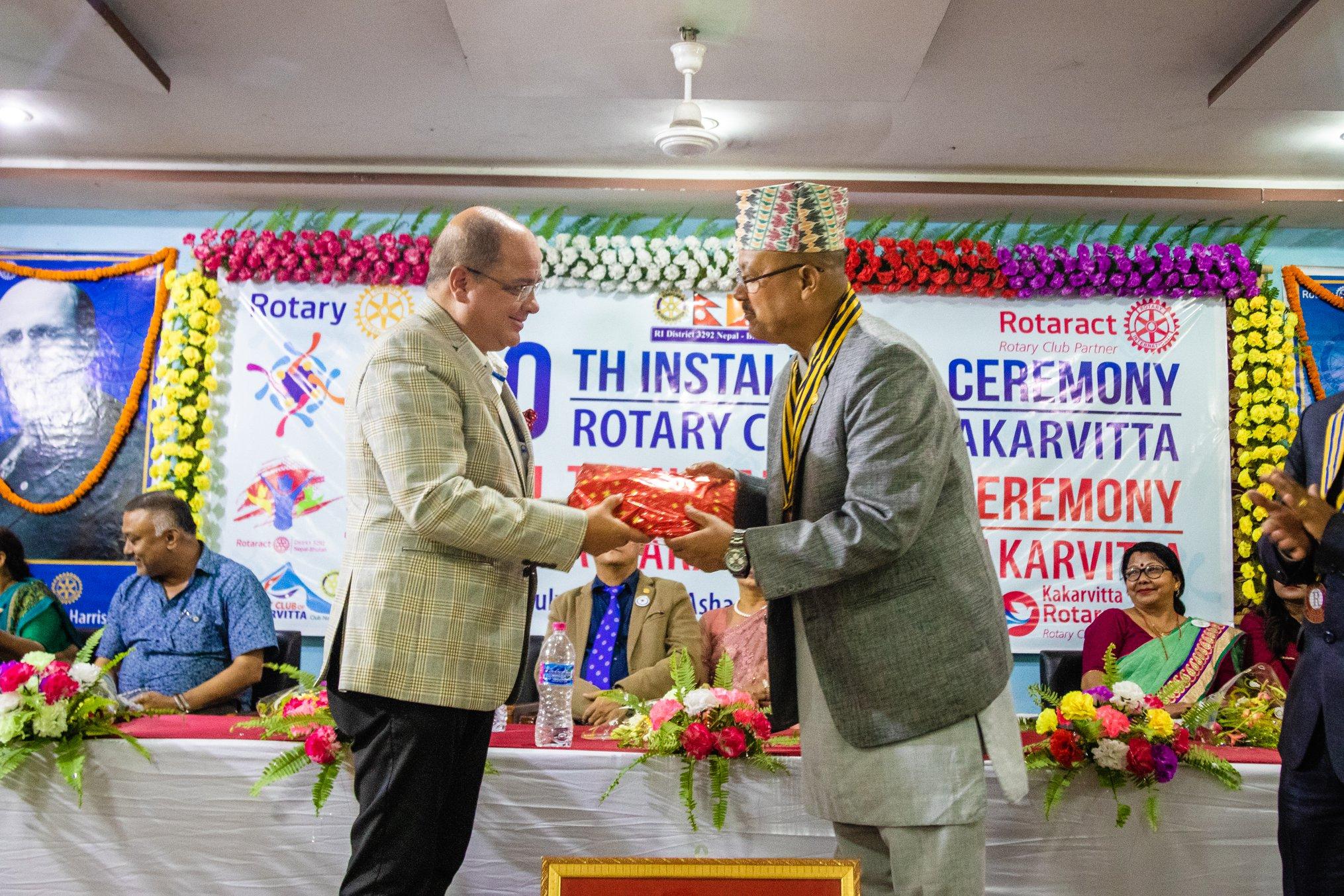 10th Installation Ceremony Rotary Club Of Kakarvitta 63