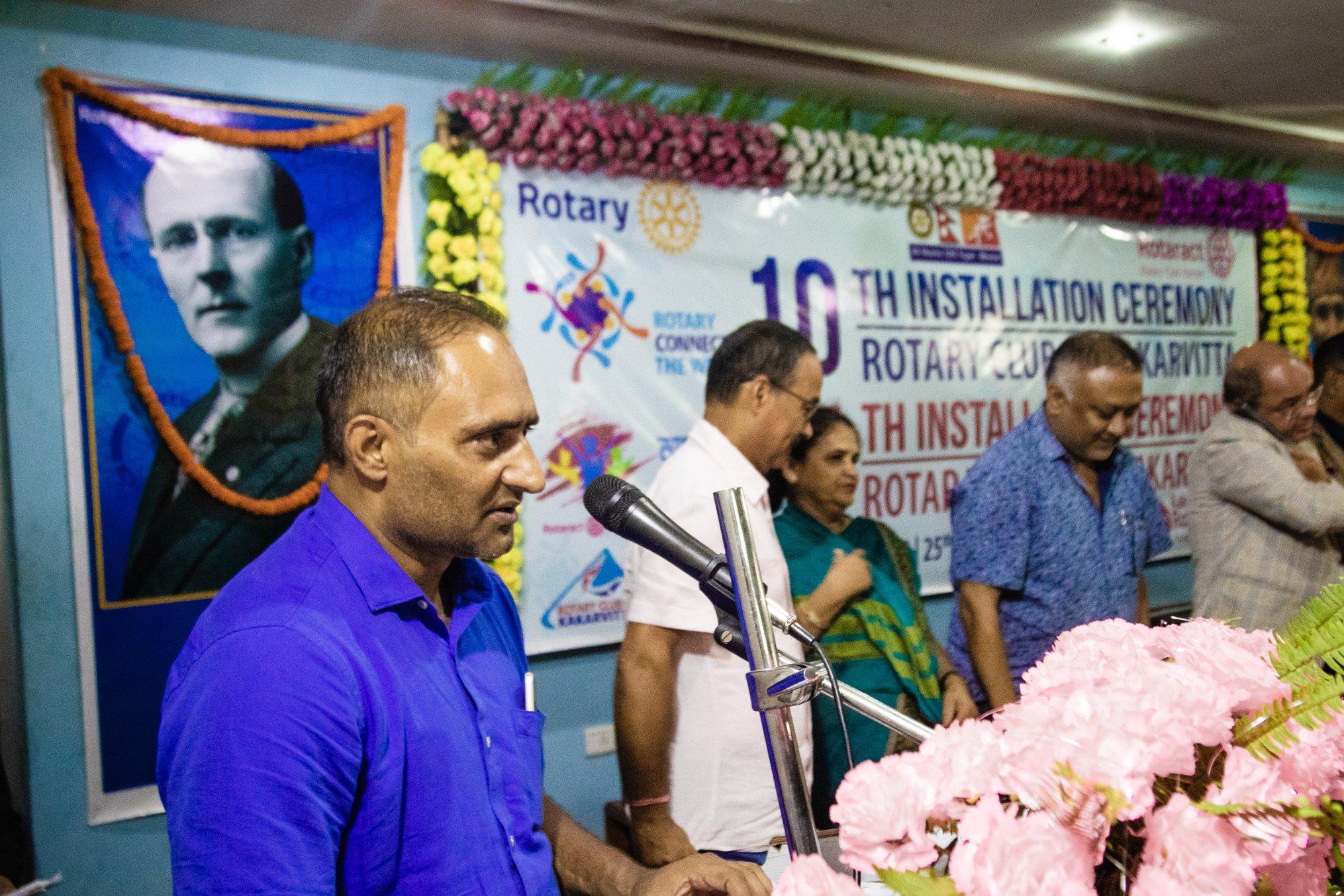 10th Installation Ceremony Rotary Club Of Kakarvitta 65