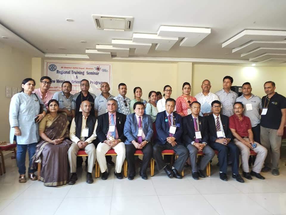 Attending Regional Training Seminar Rotary Club Of Kakarvitta 10