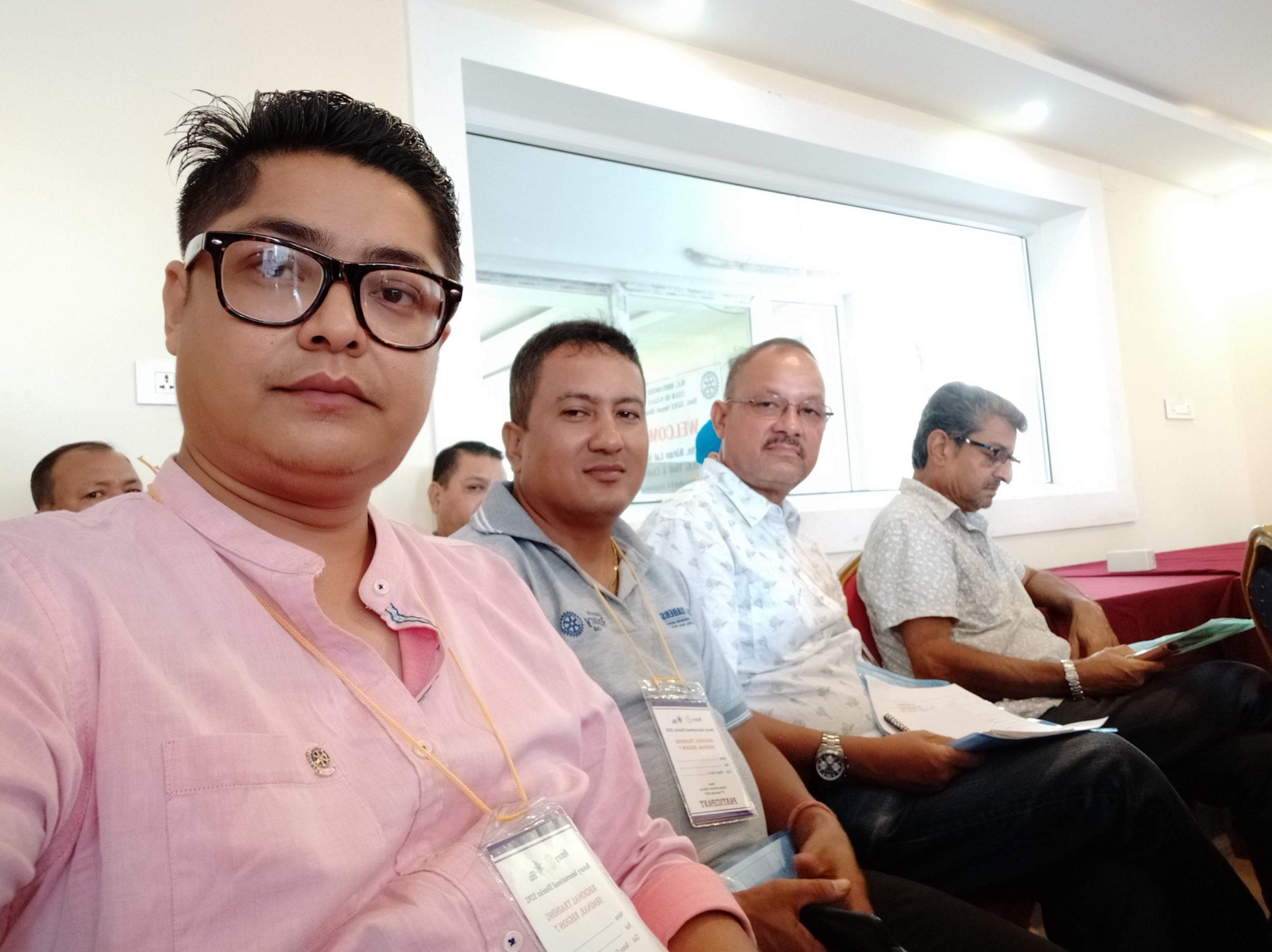 Attending Regional Training Seminar Rotary Club Of Kakarvitta 6