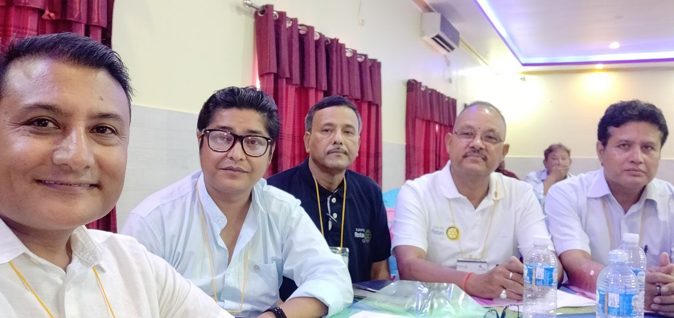 Attending Regional Workshop On Strategic Planning Seminar Rotary Club Of Kakarvitta 2