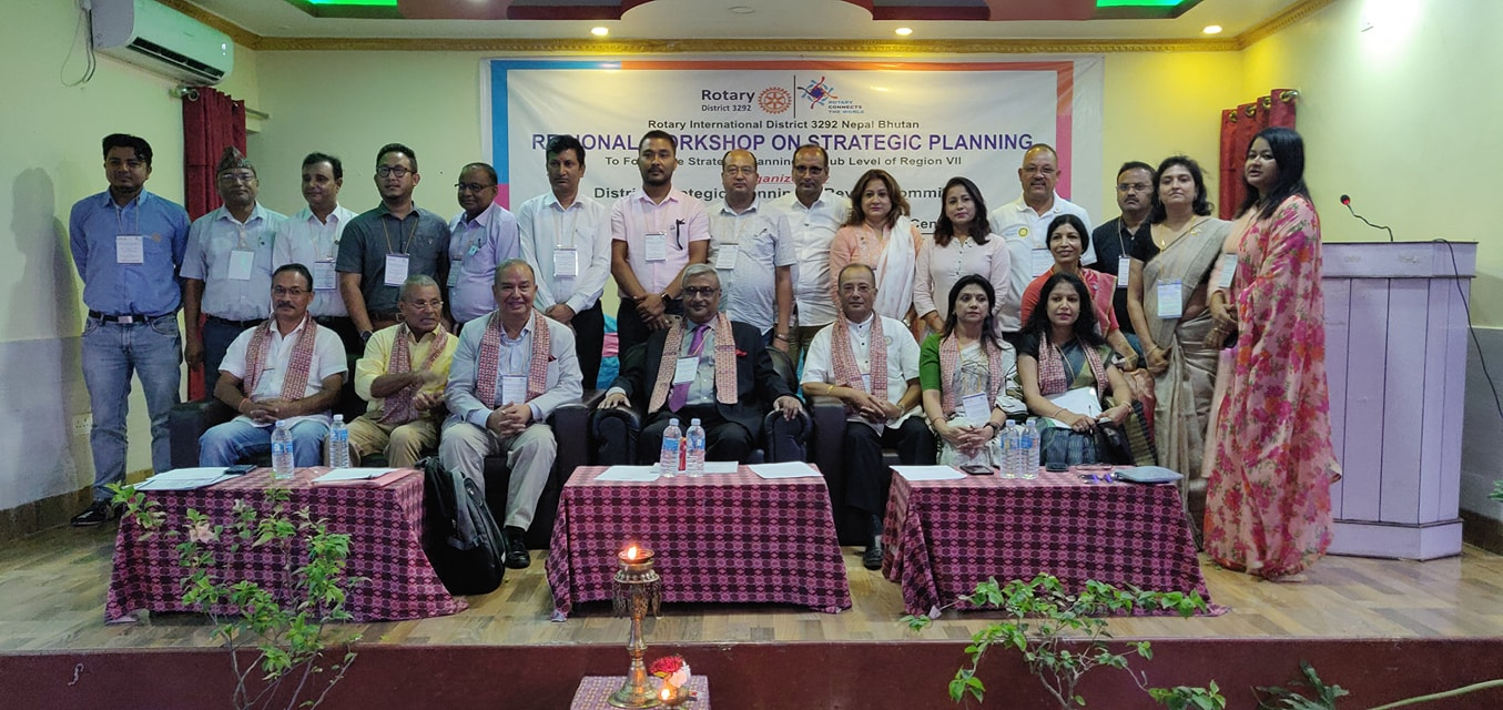 Attending Regional Workshop On Strategic Planning Seminar Rotary Club Of Kakarvitta 4