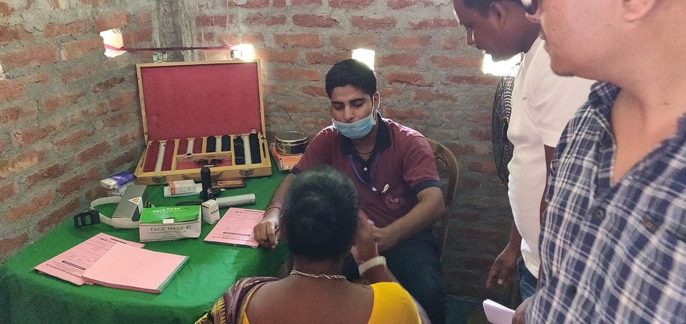 Diabetes Eye Screening Camp At Panitanki Rotary Club Of Kakarvitta 11