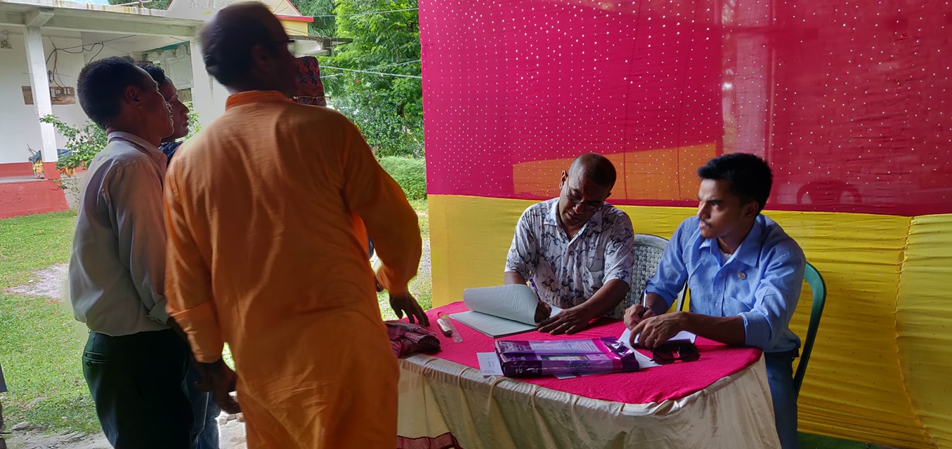 Diabetes Eye Screening Camp At Panitanki Rotary Club Of Kakarvitta 2